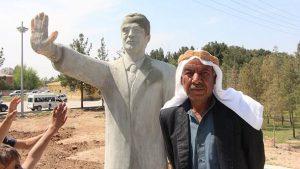 Erdoğan'ın Harran'daki 15 Temmuz heykeli bilinmeyen bir nedenle kaldırıldı