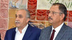 """Tarım Bakanı Fakıbaba: """"Üreticinin elindeki bütün fındığı alacağız"""""""