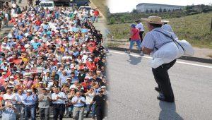 CHP'nin büyük fındık yürüyüşü ikinci gününde
