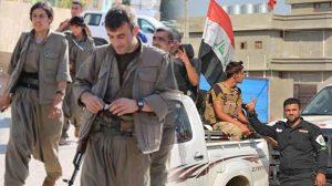 Irak'ta Haşdi Şabi güçleri ile terör örgütü PKK arasında çatışma çıktı!
