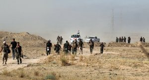 Irak Ordusu tartışmalı bölgelere girmek için İbadi'den emir bekliyor