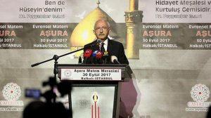 CHP lideri Kılıçdaroğlu Aşura Mateminde: Unutulmamalıdır ki günümüzün Yezidleri karşısında…