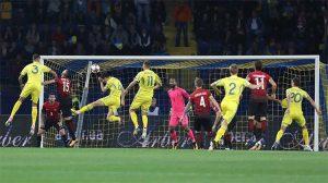 Milli Takım Ukrayna karşısında kötü performans sergiledi: 2-0