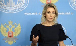 Rus Dışişleri Sözcüsü Zaharova: Teröristler geri çekilirken mayın döşüyor
