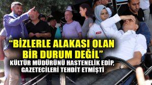 Nazilli'de Kültür Müdürünün hastanelik edilmesinin ardından MHP İlçe Başkanı açıklama yaptı