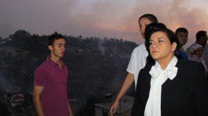 Muğla'da köye sıçrayan orman yangınında 32 ev ve 150 hektar alan yandı