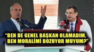 Öğretim açılış yılında Muharrem İnce, Yalova Üniversitesi rektör vekili Cengiz Tomar'a böyle takıldı