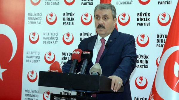 Mustafa Destici: BBP ve Alperenler olarak Kerkük'e gitmeye hazırız