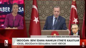 Erdoğan'a yalanlama! Hakkında idam istendi mi? Nuh Mete Yüksel Konuştu