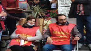 Gülmen ve Özakça davası öncesi polisten müdahale