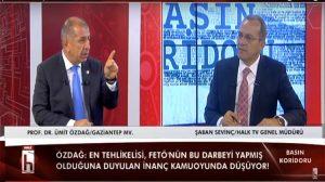 Ümit özdağ'dan Halk TV ekranlarında önemli açıklamalar