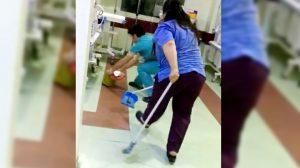 Özel hastanede skandal görüntüler: Fareler yeni doğan servisinde cirit atıyor