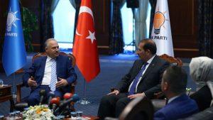 """AKP-CHP bayramlaşmasında """"Arakan"""", """"OHAL"""" ve """"KHK"""" konuşuldu"""