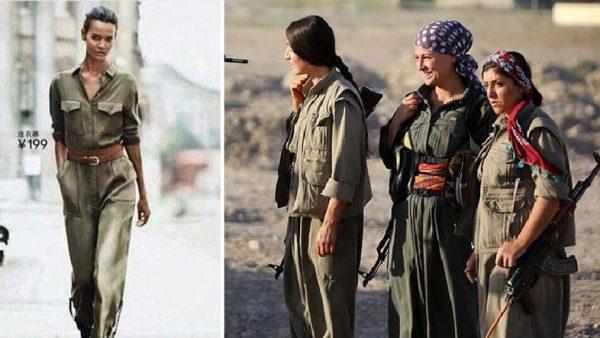 Michael Kors yeni tasarımında PKK'lı teröristlerden esinlendi: Modada terör izi!