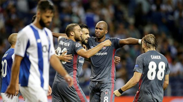 Beşiktaş, Şampiyonlar Ligi'ndeki ilk maçında Porto'yu 3-1 yendi!