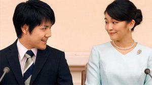 Japon prensesi unvanını kaybetme pahasına nişanlandı