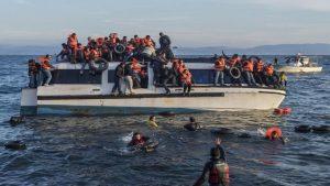 Kocaeli açıklarında göçmen teknesi battı 4 ölü, 20 kayıp