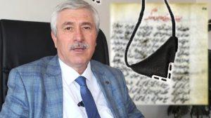 FETÖ'den aranan eski rektör Cüneyt Hoşçoşkun'un odasından ilginç muska bulundu!