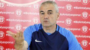 Antalyaspor teknik direktörü Rıza Çalımbay istifa etti
