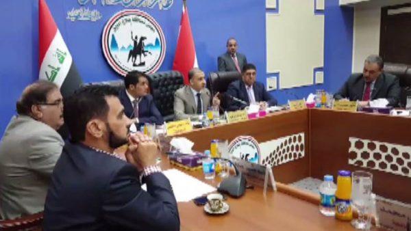 Irak'ta Selahattin İl Meclisi oy birliğiyle, bağımsızlık referandumunu reddetti