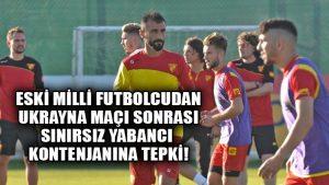 Eski milli futbolcu Selçuk Şahin'den yabancı kuralına tepki
