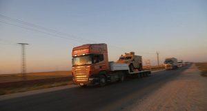 ABD'den YPG'ye yardım: 120 tır daha ağır silah ve zırhlı araç