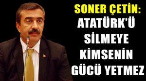 Soner Çetin: Bizler Mustafa Kemal'in askerleri olarak Atatürksüz müfredata hayır diyoruz