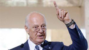 BM Suriye Temsilcisi De Mistura: IŞİD Ekim sonuna kadar yenilir, bir yıl içinde seçim yapılabilir