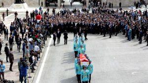 Hayatını kaybeden AKP milletvekili Yüksel için Meclis'te tören düzenlendi