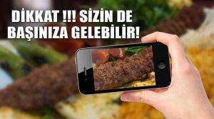 Ne polis ne GSM şirketi böyle dolandırıcılık görmedi: Adana kebabını sen ödeyeceksin!