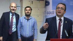 CHP sözcüsü Bülent Tezcan'dan Süleyman Soylu'nun skandal fotoğrafına tepki