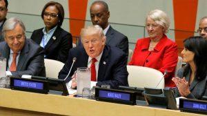 ABD Başkanı Donald Trump BM misyonunun daha net tanımlanması çağrısı yaptı