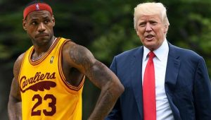 Lebron James'ten Donald Trump'a: 'Seni serseri'