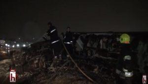 Dün akşamki uçak kazasının ses kayıtları ortaya çıktı!