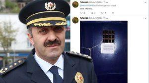 """Genelev kapandı, emniyet müdürü bu mesajı paylaştı: """"The End"""""""