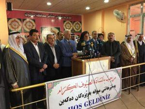 Türkmen, Arap ve Kürt aşiret liderleri Kerkük'te birlik için toplandı