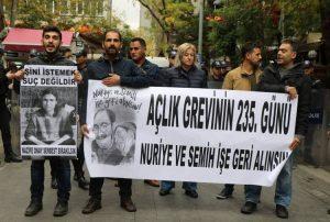 Yüksel'de eylemlerin 355. günü: Polis 10 kişiyi gözaltına aldı