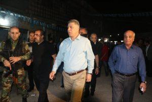 Irak Türkmen Cephesi Lideri Erşad Salihi, Kerkük'te Türkmenlerle kucaklaştı!