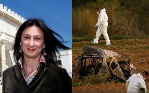 Malta'da öldürülen gazetecinin köşesi boş bırakıldı!