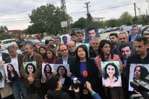 HDP, tutuklu vekiller için Edirne Cezaevi'nde açıklama yaptı