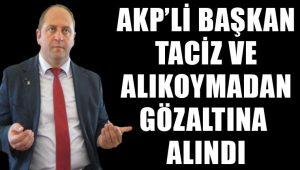 AKP'li belediye başkanı Saim Çevik'e tacizden gözaltı