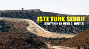 Türkiye-Suriye sınırına 688 kilometre duvar yapıldı