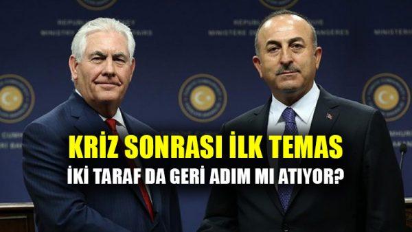 Türkiye-ABD arasındaki vize krizi sonrası ilk temas: Karşılıklı geri adım mı?