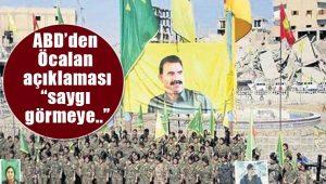 ABD'den Abdullah Öcalan açıklaması