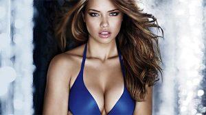 Adriana Lima Victoria's Secret defilesine sıkı hazırlanıyor