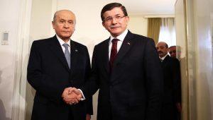 Ahmet Davutoğlu'ndan, Devlet Bahçeli'ye 10 maddelik yanıt!