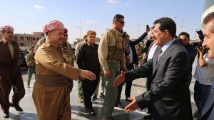 Barzani'nin Kerkük'te Haşdi Şabi korkusu: Peşmerge komutanlarını ziyaret etti