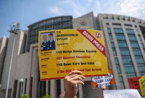 2016 yılında 889 gazetecinin sarı basın kartı iptal edildi