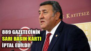 Adalet Bakanı Abdülhamit Gül, CHP Niğde Milletvekili Gürer'in soru önergesini yanıtladı