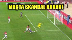 Monaco-Beşiktaş maçında goller peş peşe! Nizami bir golümüz iptal!